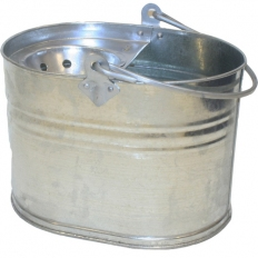 Galvanised Mop Bucket Oval Heavy Duty